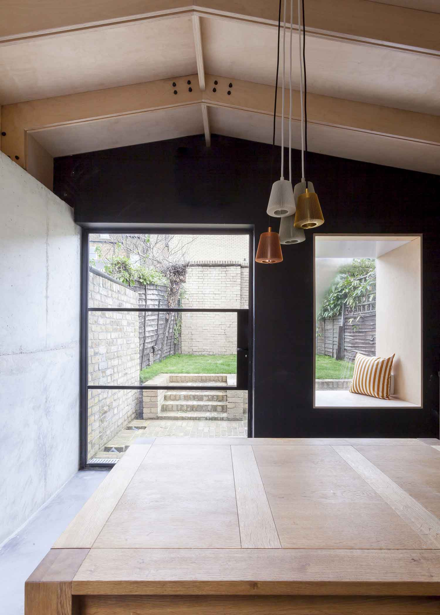 London House by Simon Astridge Features Plywood, Concrete, Brickwork, Stone & The Sky | Yellowtrace