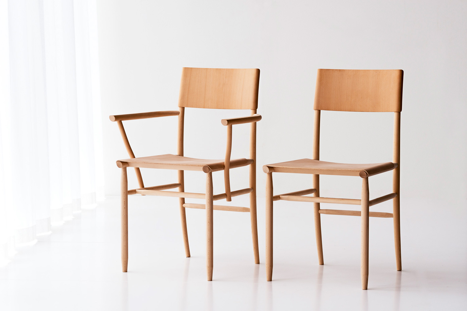 MadonnaI I & II Chair by David Ericsson & Garsnas at Stockholm Design Week 2015 | Yellowtrace