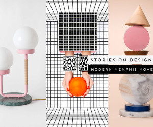 Modern Memphis Design Trend, Curated by Yellowtrace