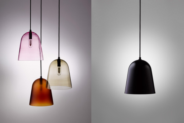 Mouth Blown Glass Lighting Collection by Helen Kontouris for LEN | Yellowtrace