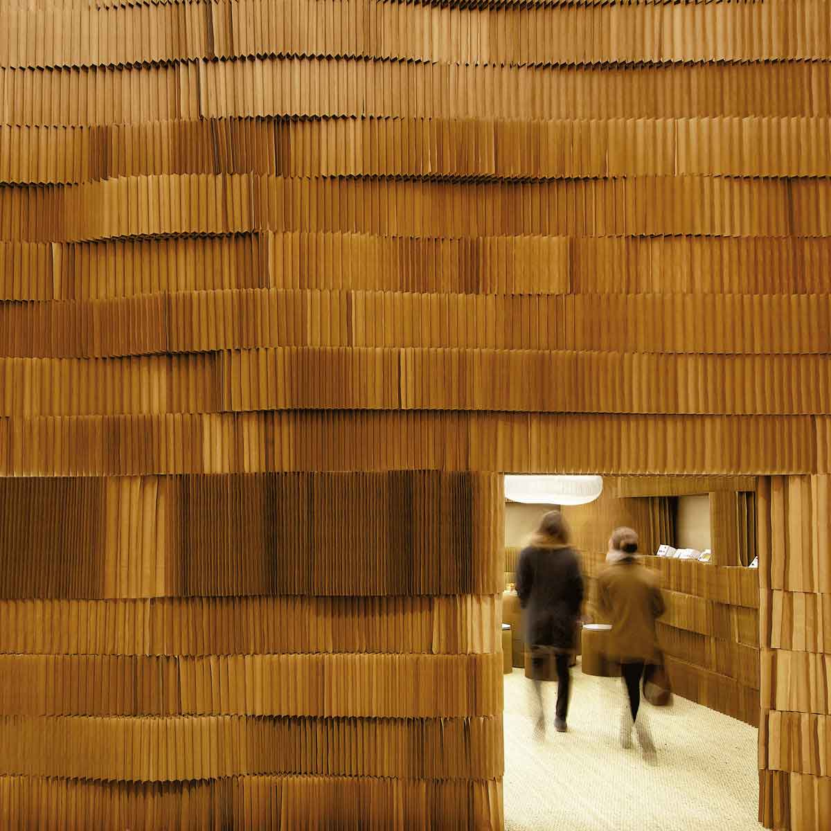 Paper Installation by Molo Design at Maison & Objet | Yellowtrace