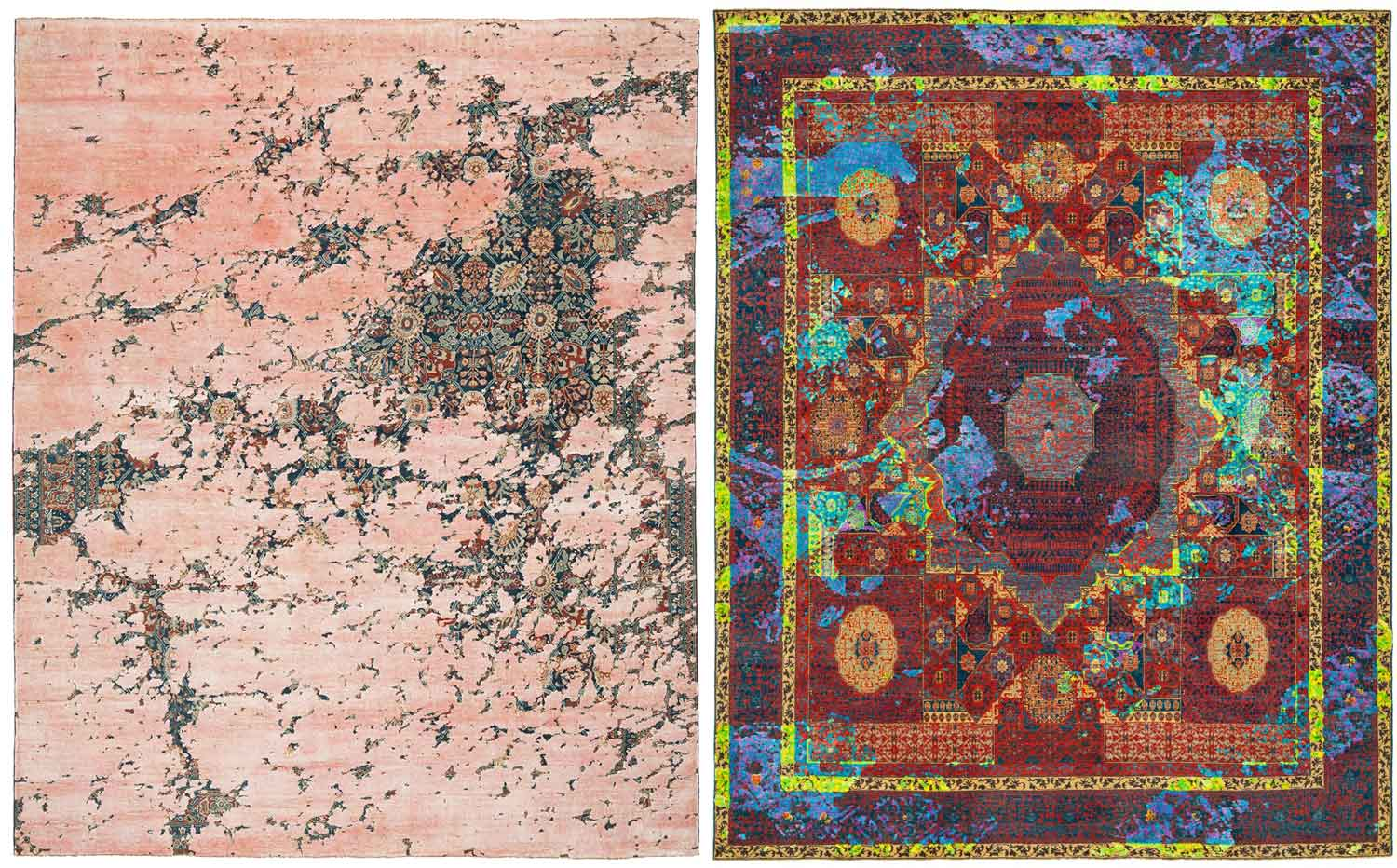 Rugs by Jan Kath at Maison & Objet 2015 | Yellowtrace