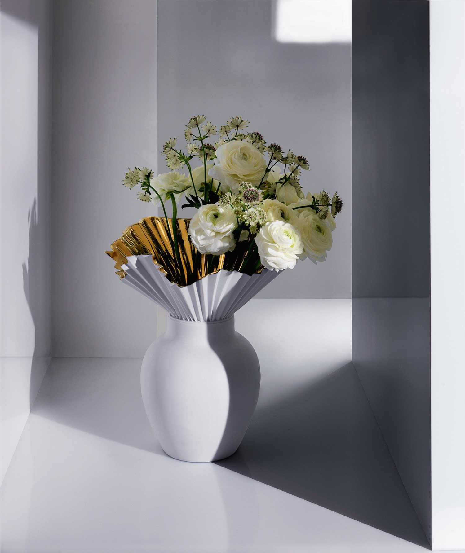 Sebastian Herkner Falda Vase for Rosenthal   Yellowtrace