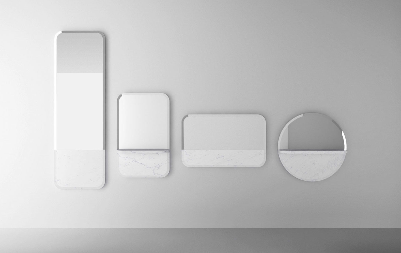 Sylvain Willenz Alaka Mirrors for Retegui at Maison & Objet 2015 | Yellowtrace
