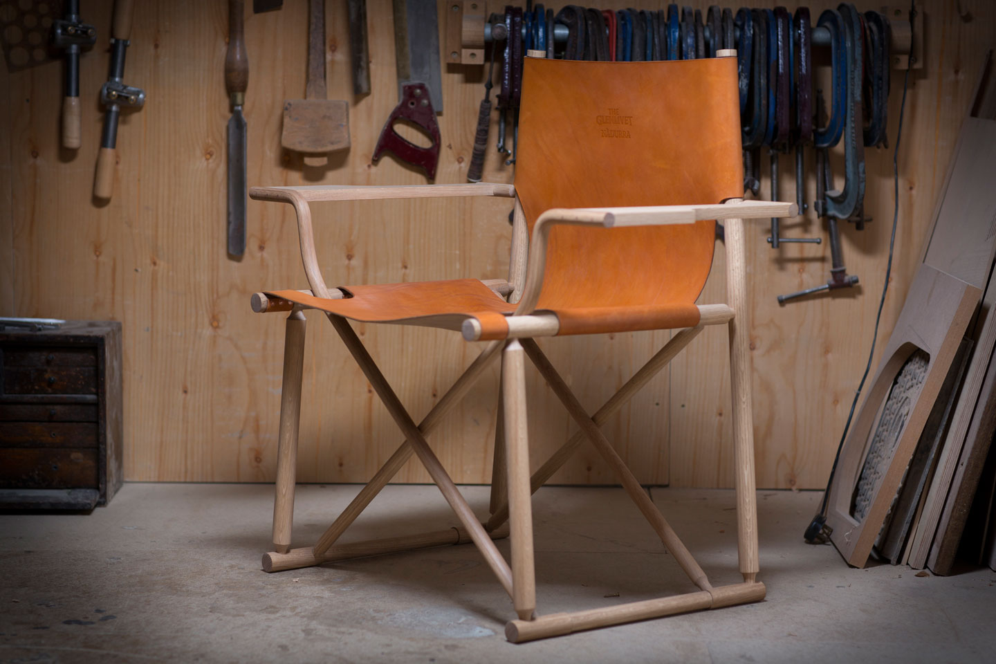 The Glenlivet Nadurra Dram Chair by Gareth Neal at Maison & Objet | Yellowtrace