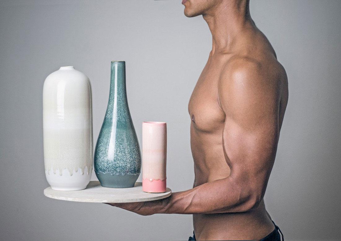 Hand-made Ceramics by Tortus Copenhagen at Maison & Objet 2015 | Yellowtrace