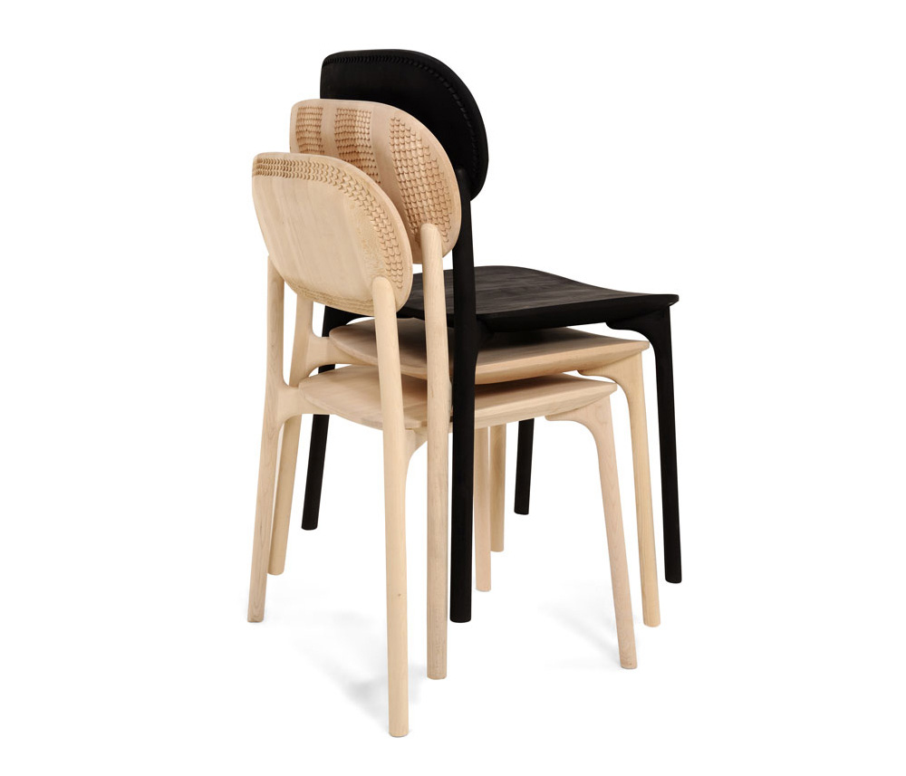 UNNA Dining Chair by Monica Förster for Zanat at Stockholm Design Week 2015 | Yellowtrace