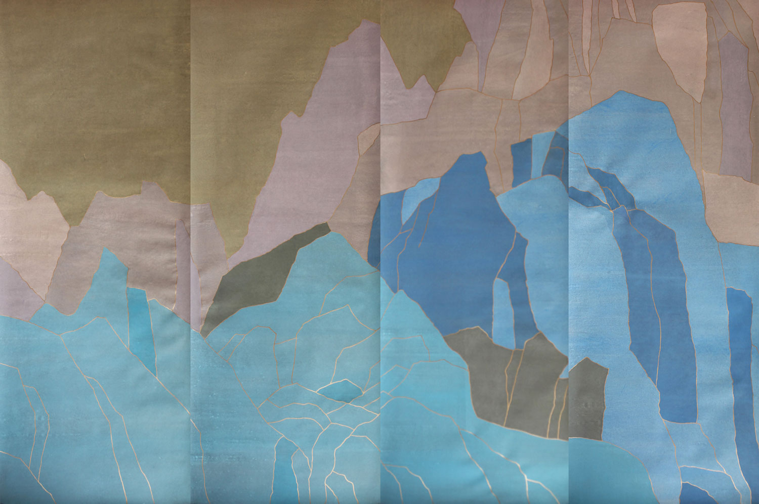Wallpaper by Fromental at Maison & Objet 2015 | Yellowtrace