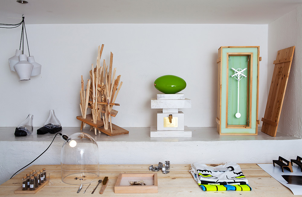 'We Live Here' Space at Stockholm Design Week 2015 Yellowtrace