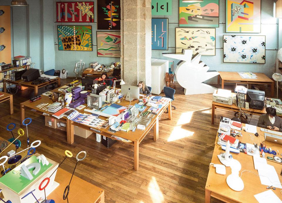 Alessandro Mendinis Studio | Yellowtrace