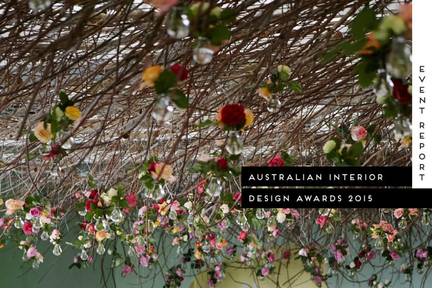 Australian Interior Design Awards 2015 | Yellowtrace