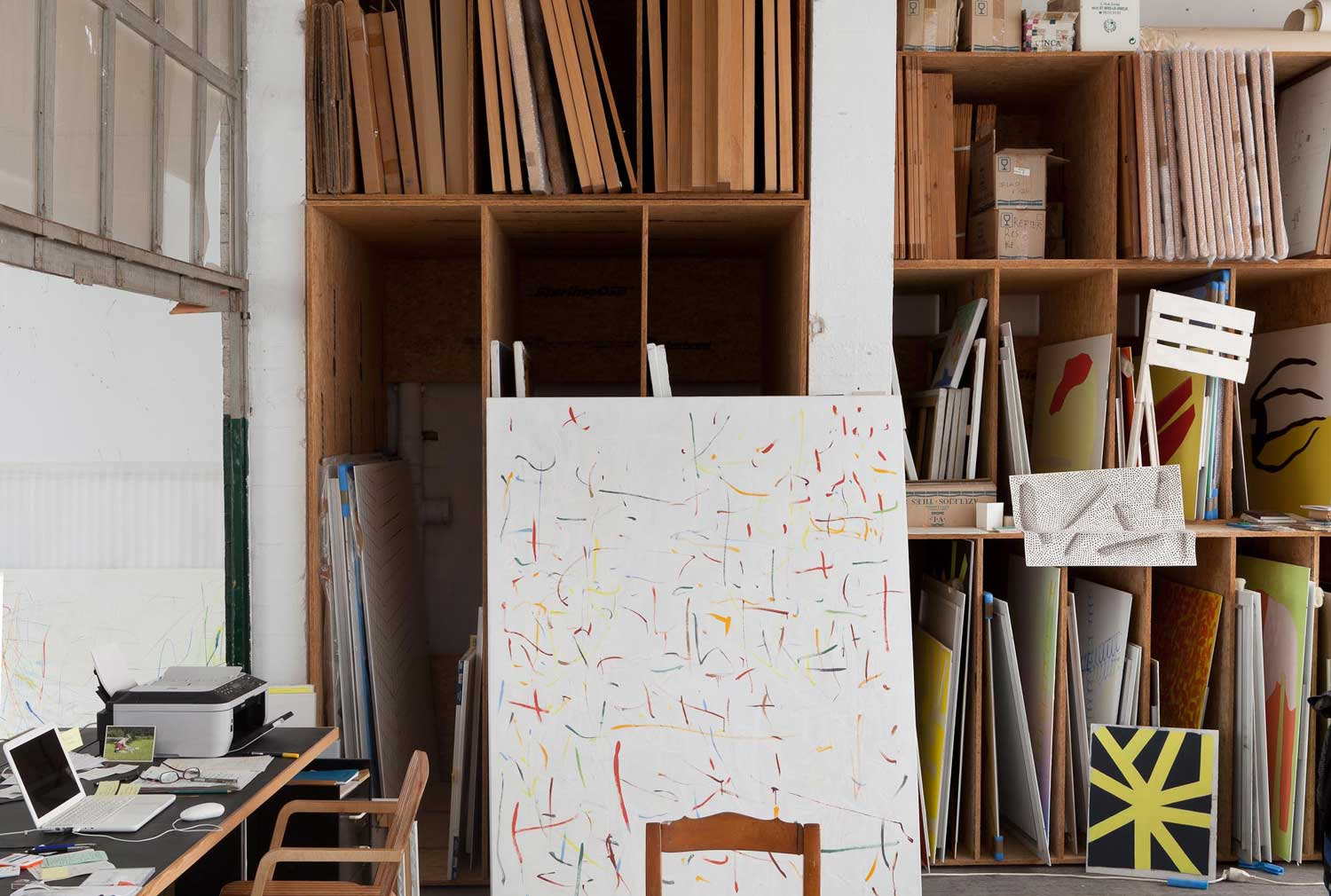 Benoît van Innis' Studio in Brussels | Yellowtrace