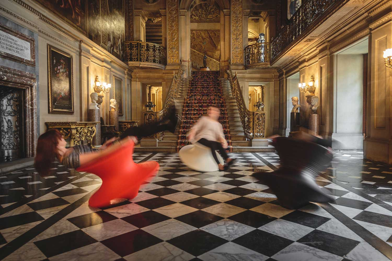 Chatsworth Magis Spun Rotating Chairs By Thomas Heatherwick | Yellowtrace
