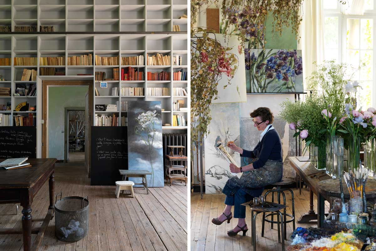 Claire Basler Flower House | Yellowtrace