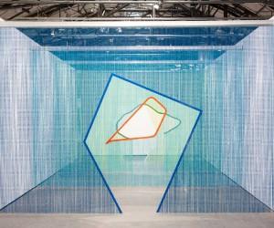 Steel Curtain Installations by Daniel Steegmann Mangrane | Yellowtrace