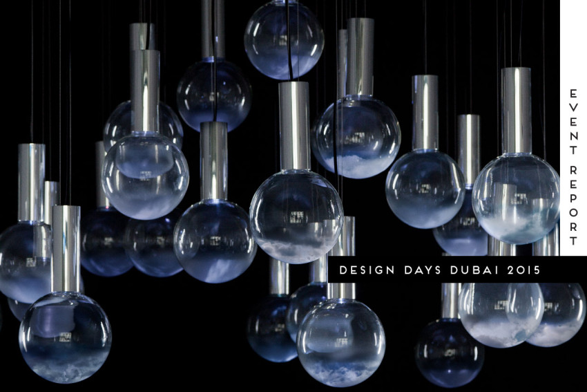Design Days Dubai 2015| Yellowtrace