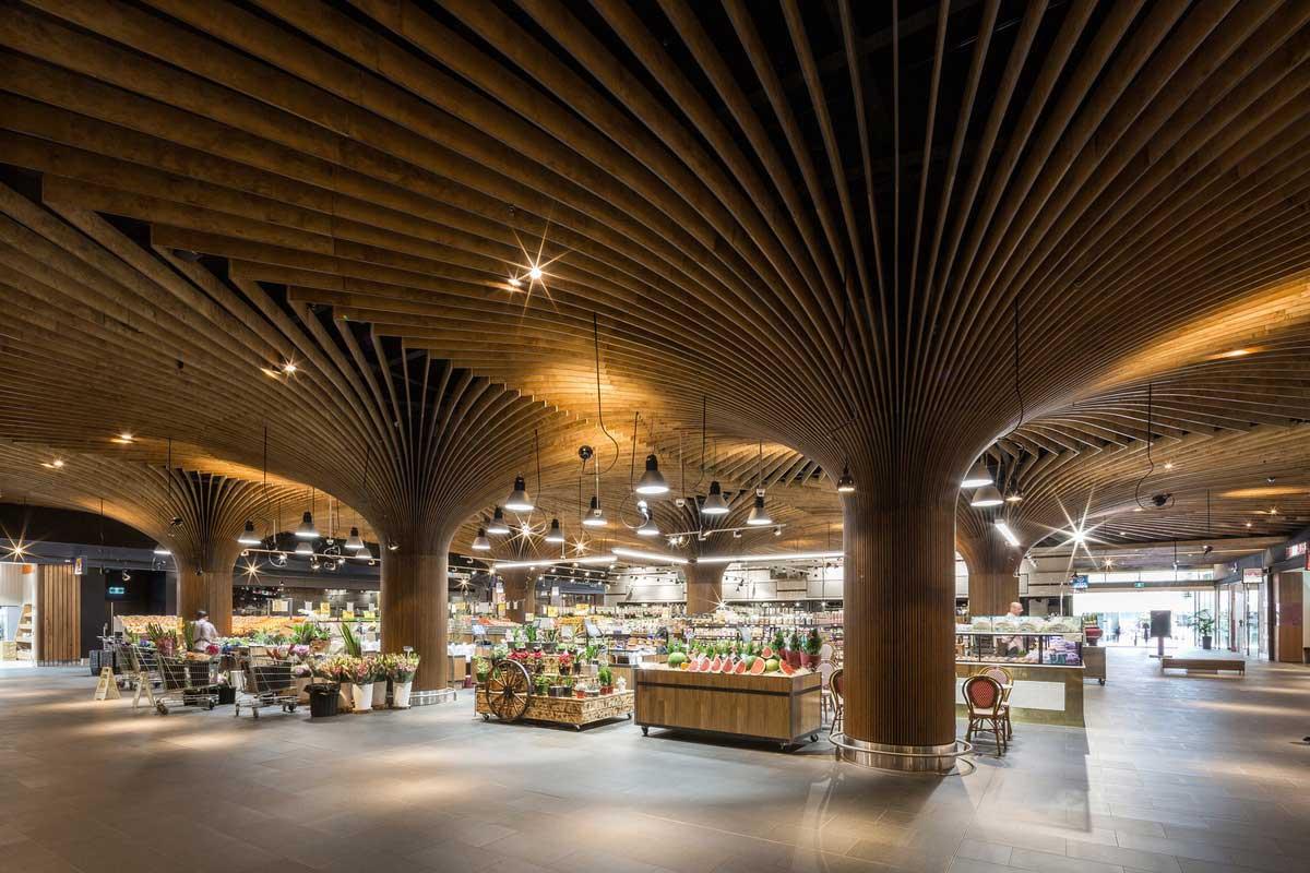 East Village Urban Marketplace by Koichi Takada Architects. Photo by Tom Ferguson | Yellowtrace