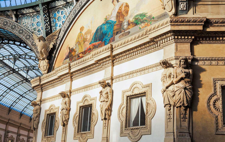Galleria Vittorio Emanuele II Milan | Yellowtrace