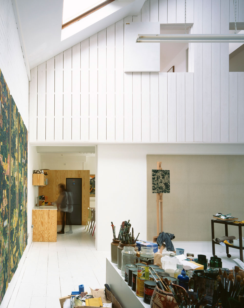 House for a Painter by Dingle Price Architects | Yellowtrace