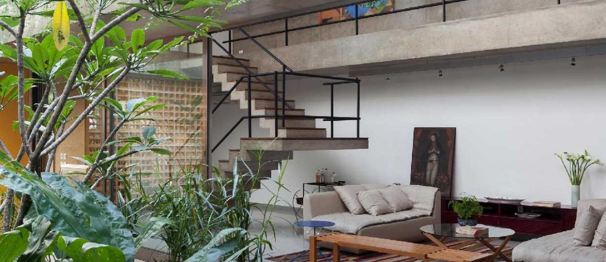 Jardins House by CR2 Arquitetura in São Paulo | Yellowtrace