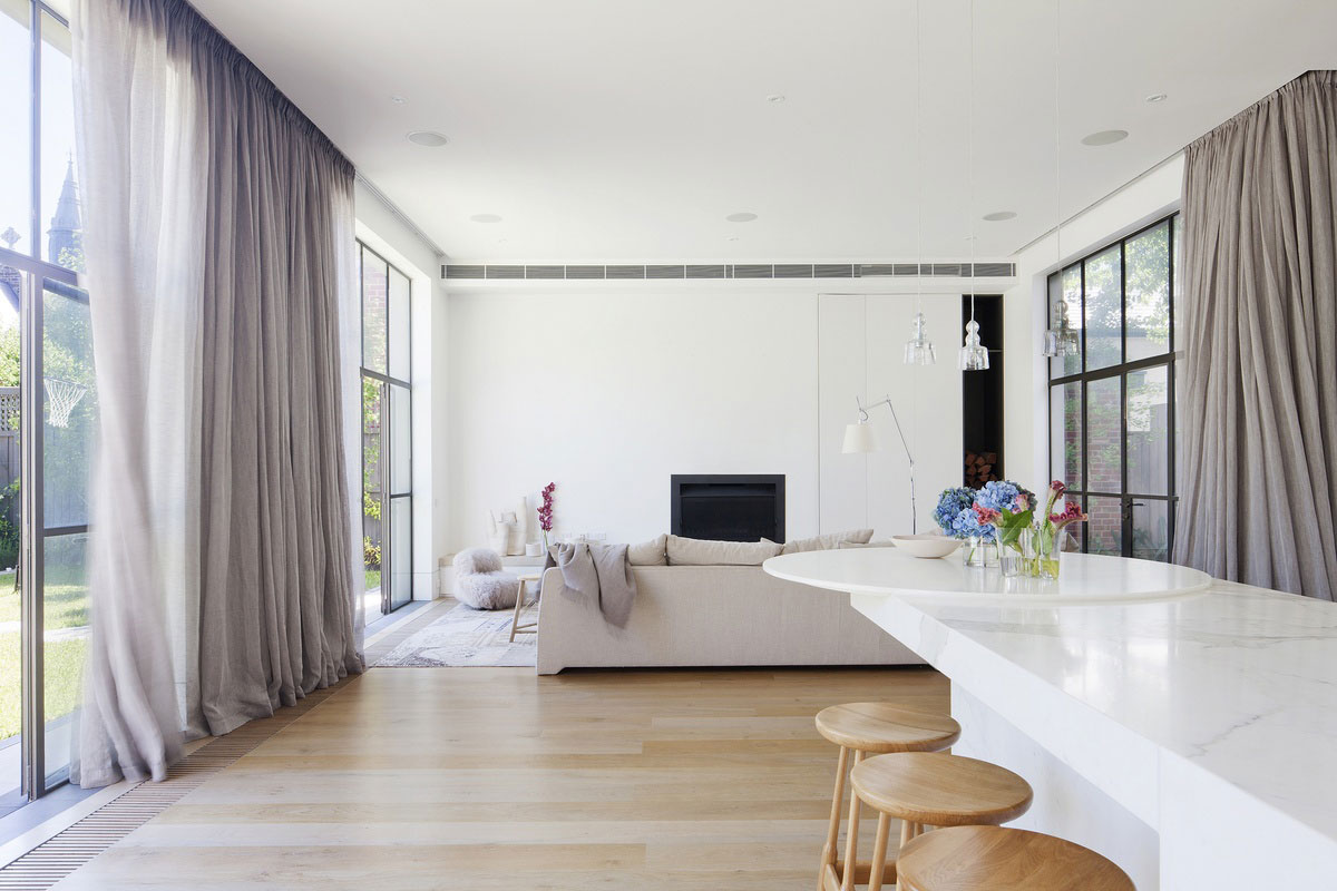 Lace House by Susi Leeton Architects & Interiors and Allison Pye Interiors. Photo by Shannon McGrath   Yellowtrace