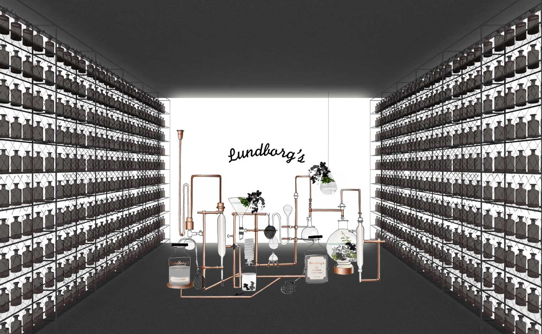 Lissoni Associati Installation for Lundborg Milan Design Week 2015 | Yellowtrace