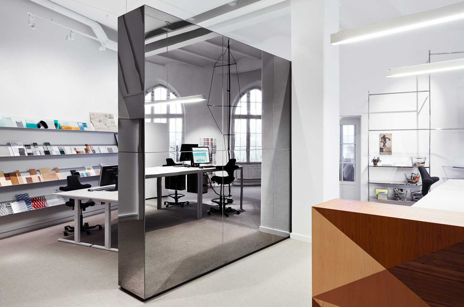Swedish Architect S Mer Design Their Own Stockholm Office