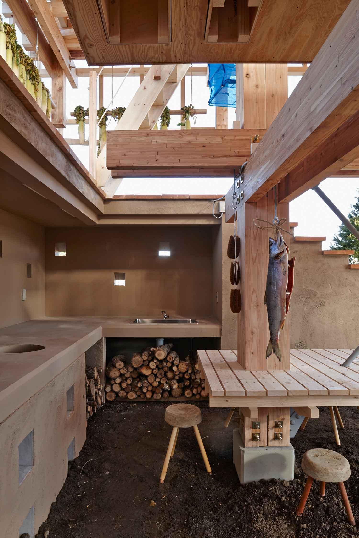 Nest We Grow by College of Environmental Design UC Berkeley + Kengo Kuma & Associates   Yellowtrace