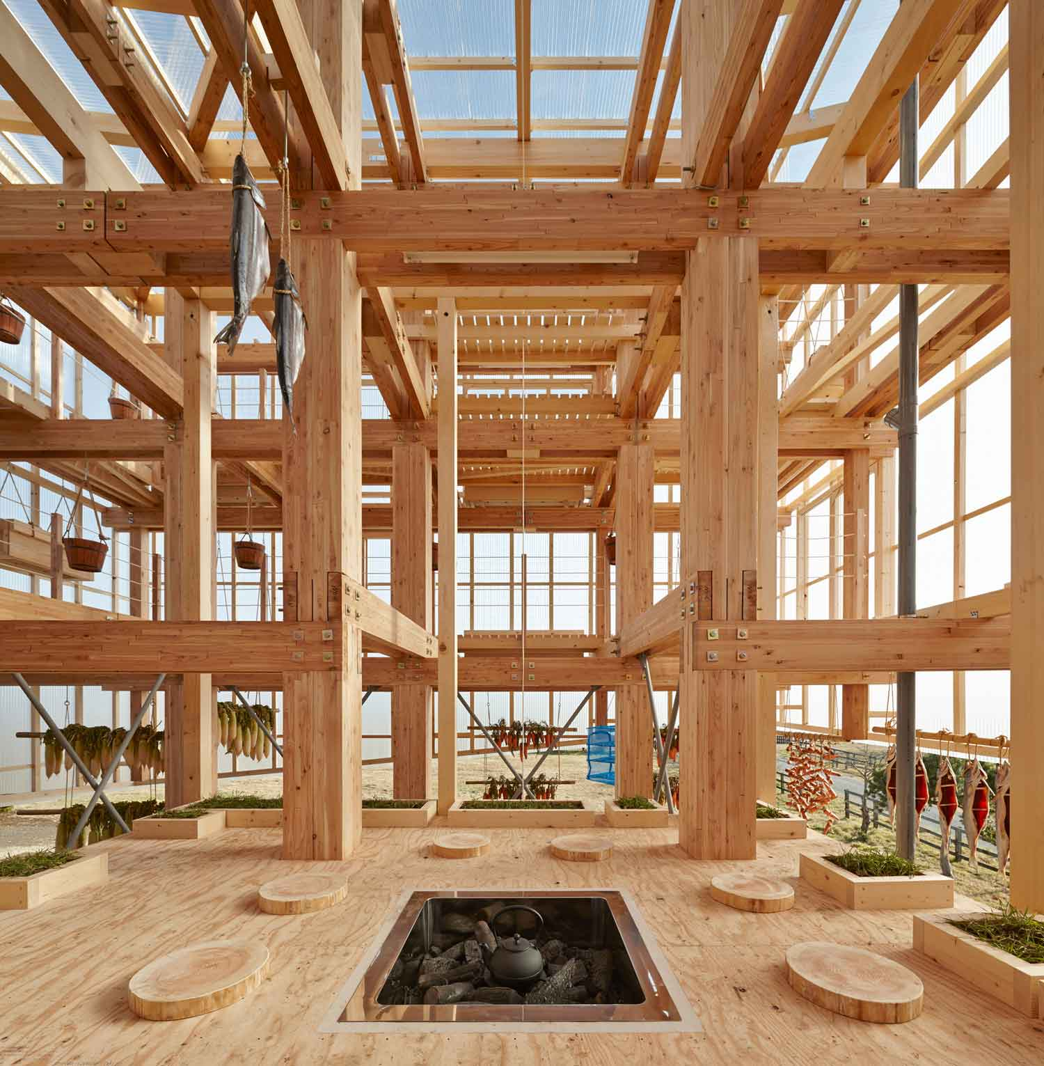 Nest We Grow by Students at UC Berkeley's College of Environment & Kengo Kuma | Yellowtrace