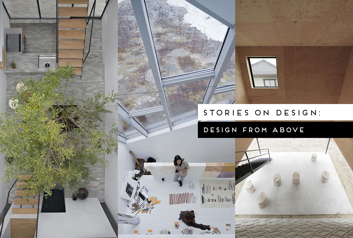 One Floor Up: Design From Above, Curated by Yellowtrace