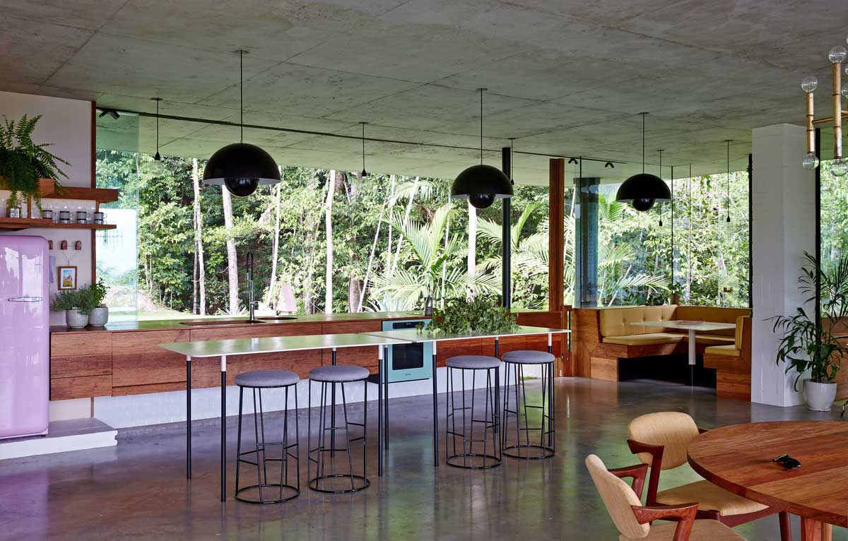 Planchonella House by Jesse Bennett Architect. Photo by Sean Fennessy   Yellowtrace