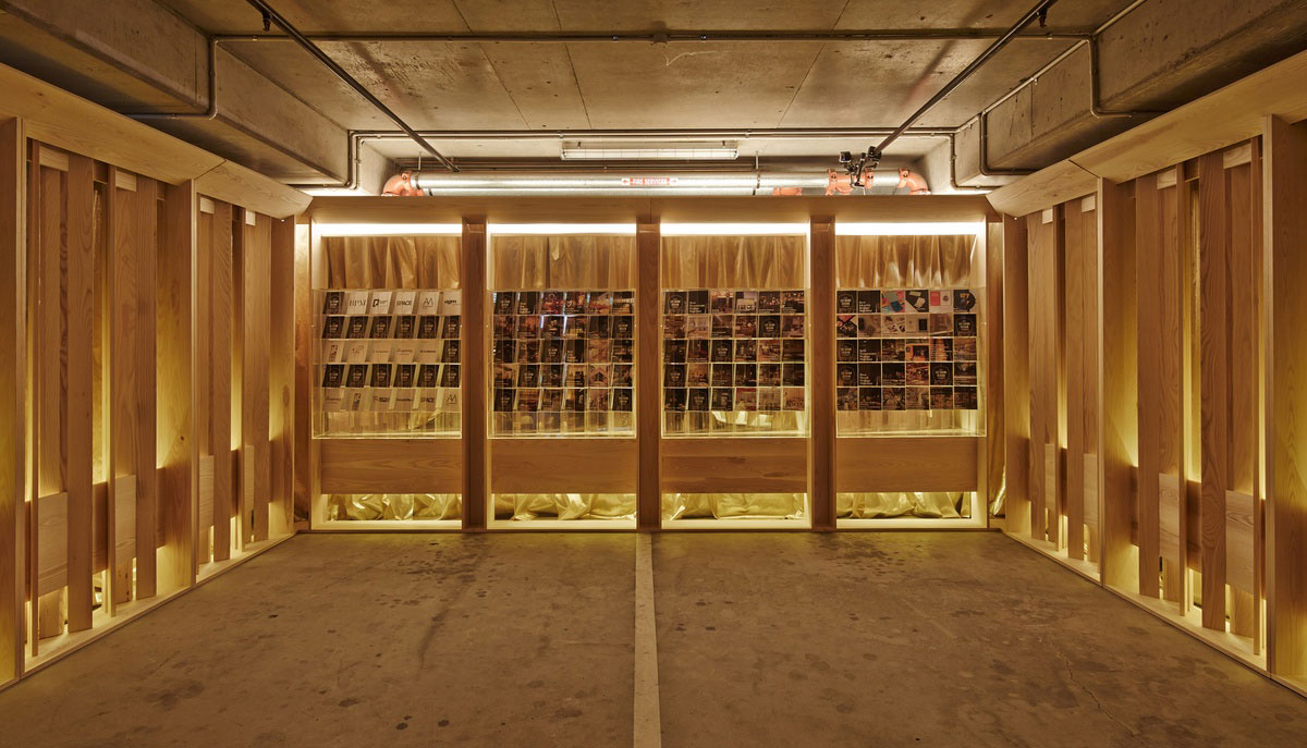 Pop Down Bar by DesignOffice. Photo by Peter Bennetts   Yellowtrace