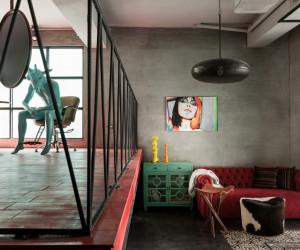 Renovation of Split-Level Hair Salon & Home by HAO Design Studio | Yellowtrace