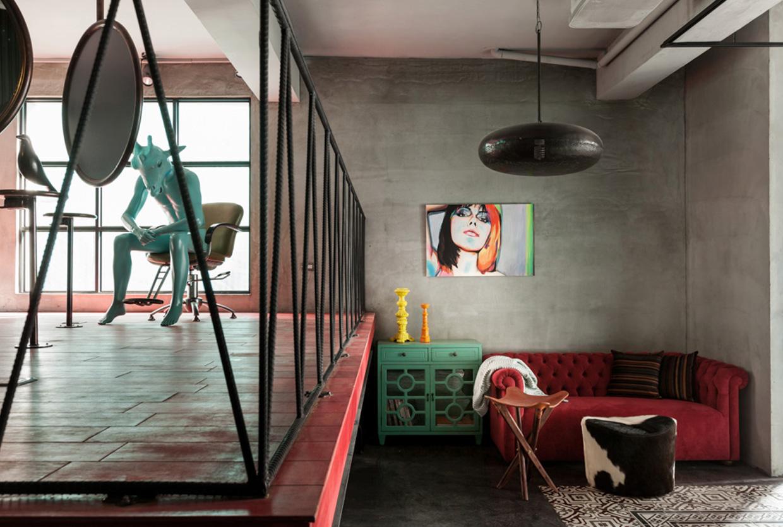 Renovation of Split-Level Hair Salon & Home by HAO Design Studio   Yellowtrace