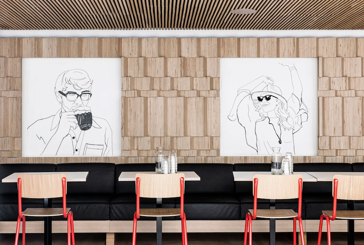 Restaurant Block by Dylan | Yellowtrace