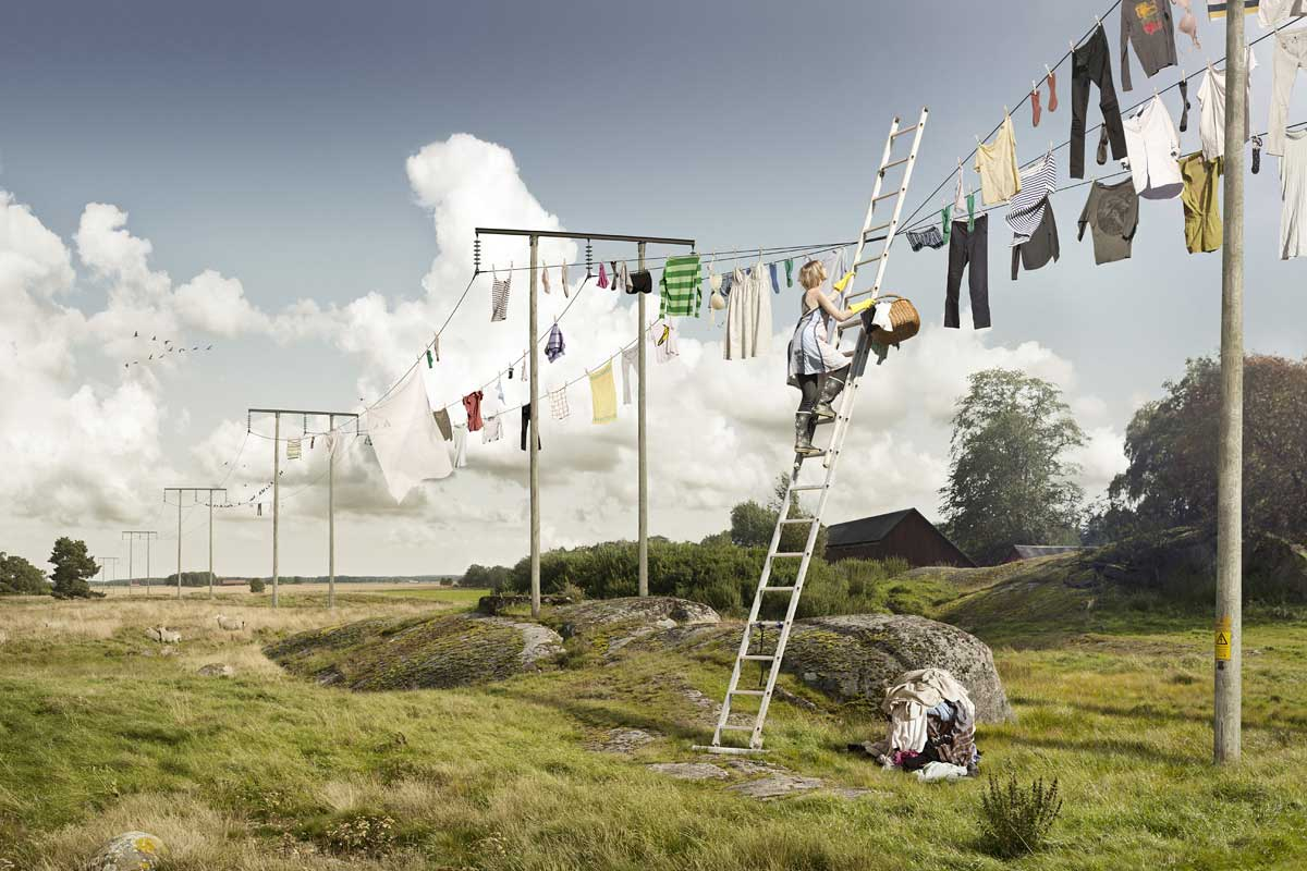 Surreal Distorted Reality by Photographer E Johansson | Yellowtrace