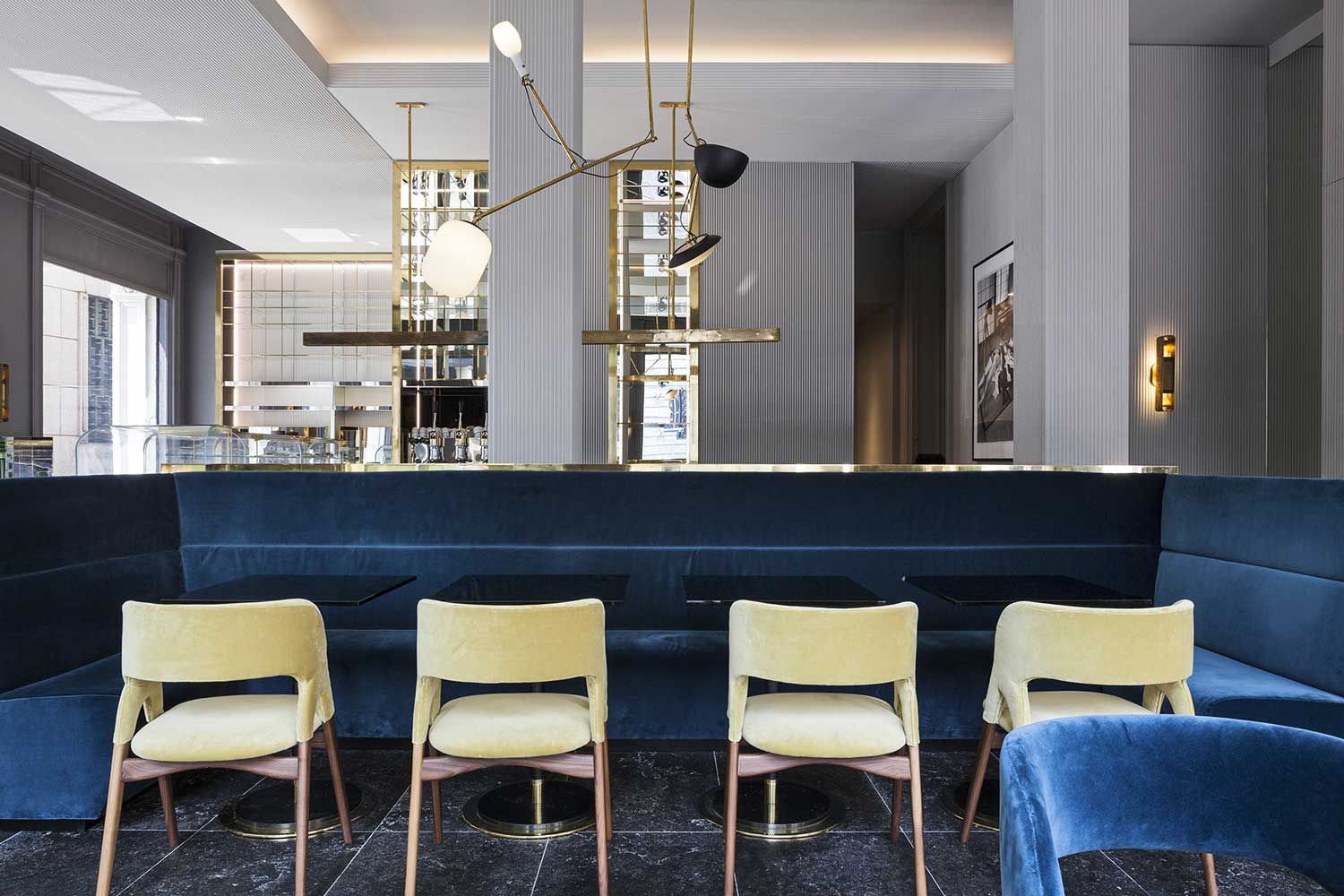 Ta Restaurant Milan by Vincenzo de Cotis | Yellowtrace
