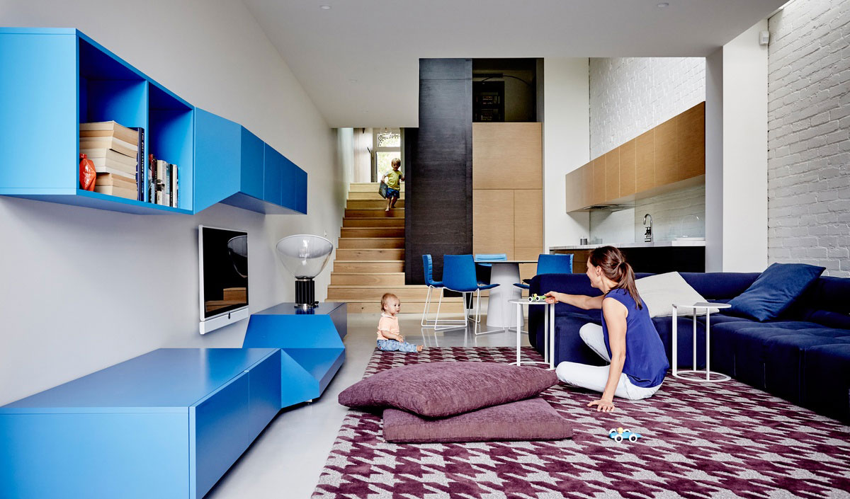 True Blue Terrace by Pleysier Perkins & Nexus Designs Collaboration. Photo by James Geer | Yellowtrace