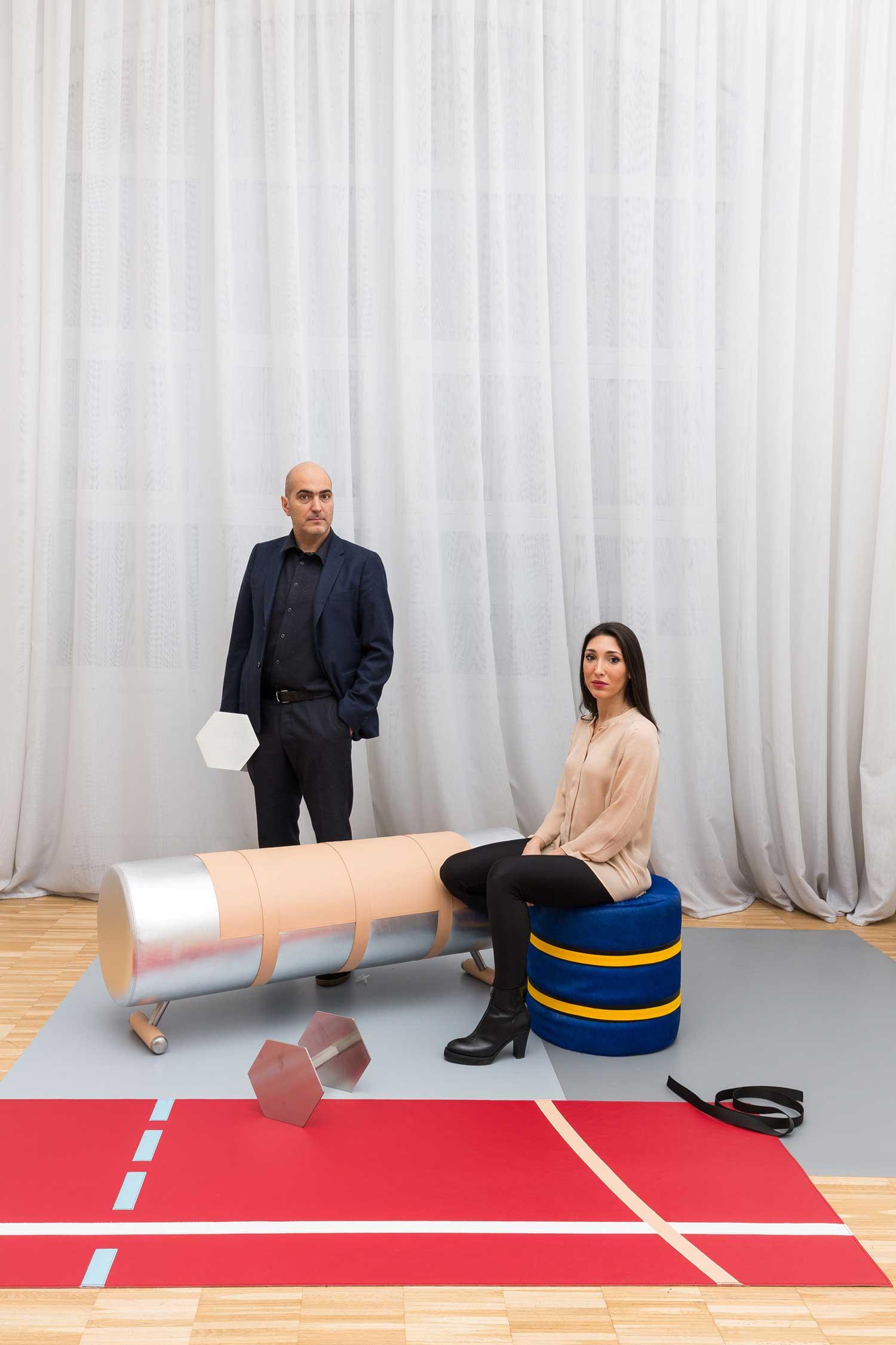 Body Building Portrait Biagetti & Baldassari | Yellowtrace