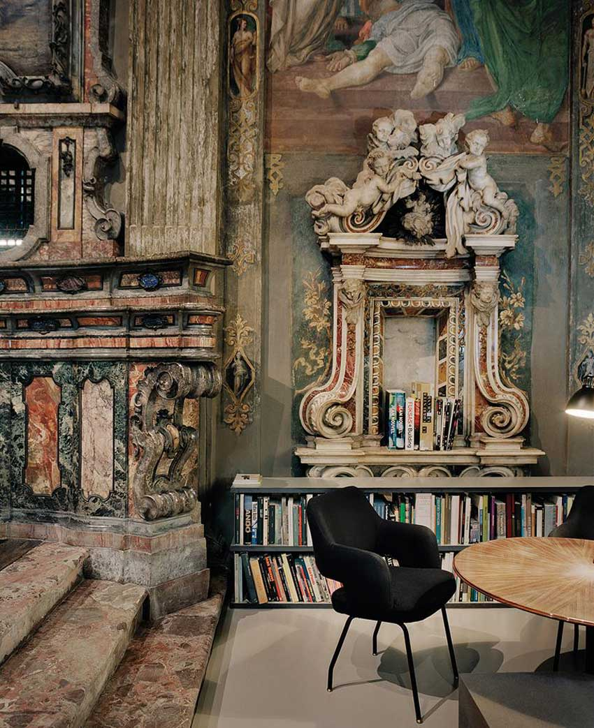 CLS Architetti Studio Inside a 16th Century Church in Milan | Yellowtrace