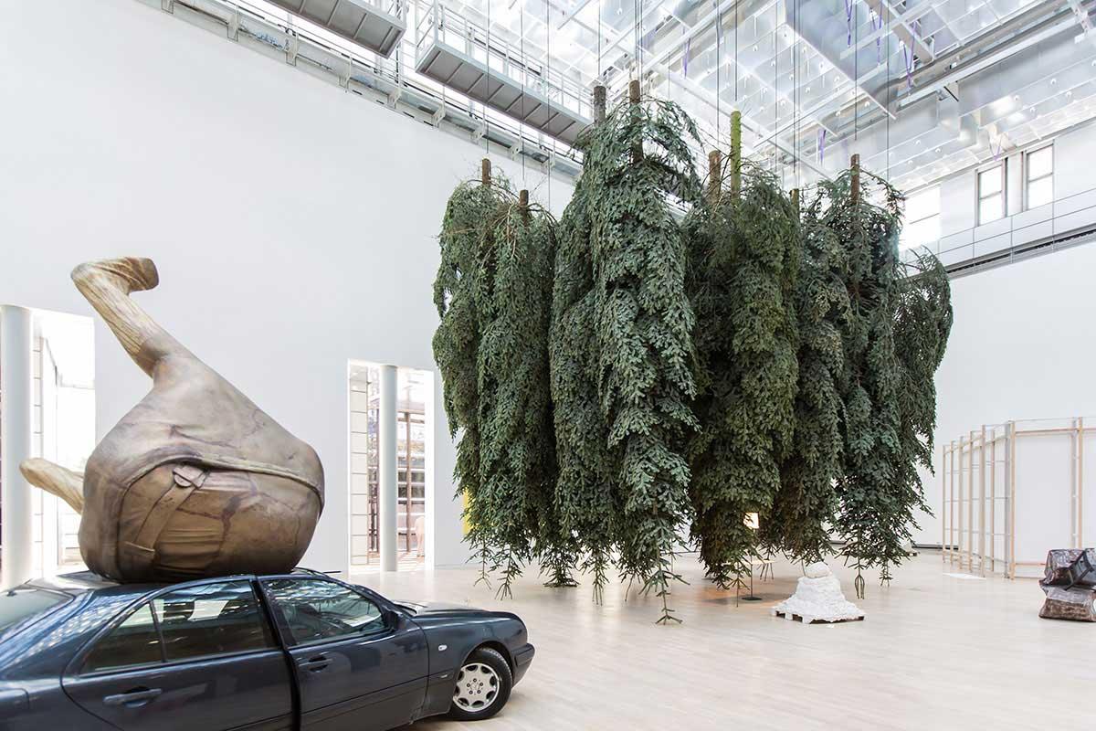 Erwin Wurm Infills Kunstmuseum Wolfsburg | Yellowtrace