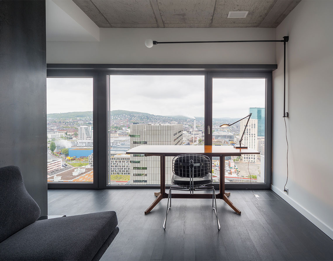 Penthouse Zurich 2014 by CLS Architetti | Yellowtrace