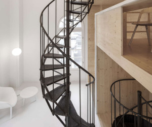 Studio Space Inside a Tower on the Roof of Amsterdam Department Store by i29 Architects   Yellowtrace