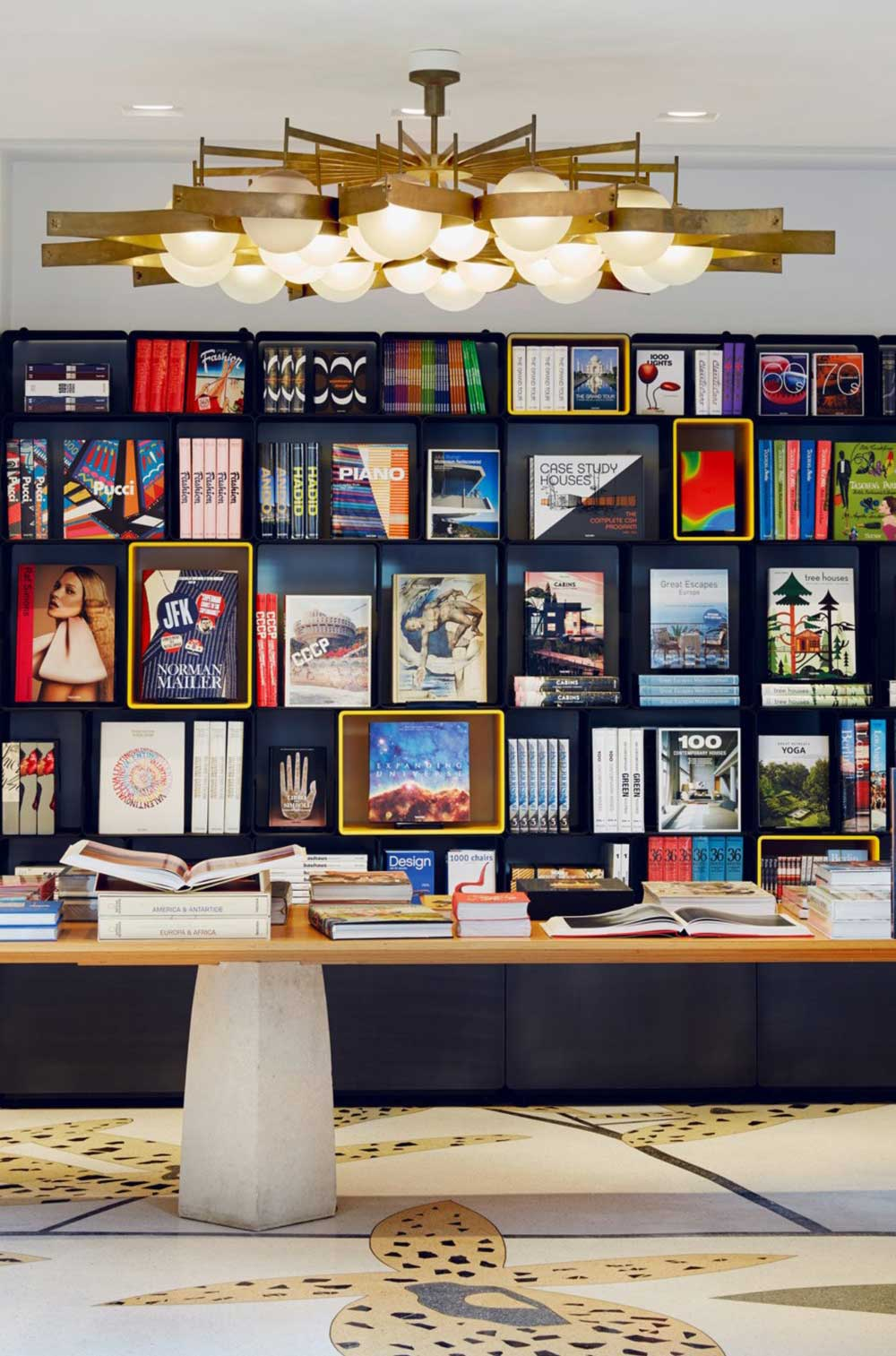 TASCHEN First Milan Store by Marc Newson | Yellowtrace