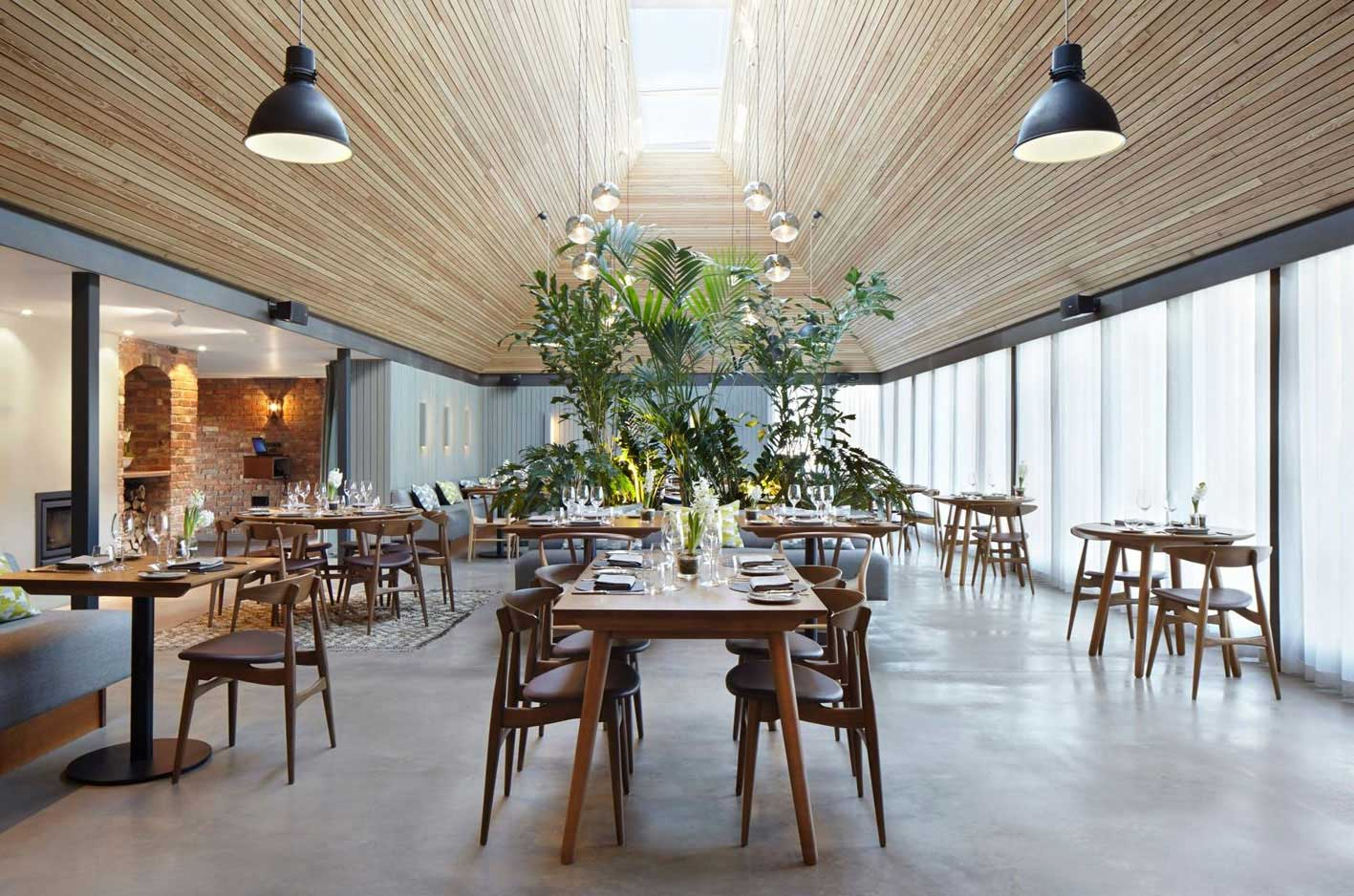The Woodspeen Restaurant & Cookery School by Softroom | Yellowtrace