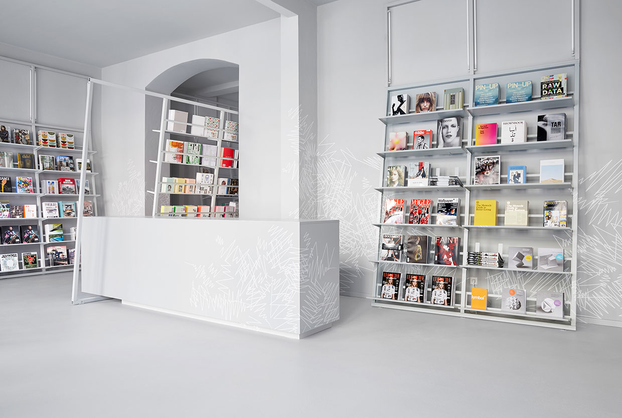 soda.BERLIN Bookstore by Designliga | Yellowtrace
