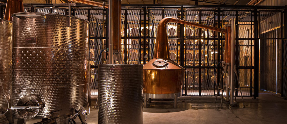 Archie Rose Distillery in Sydney's Rosebery by Acme & Co | Yellowtrace