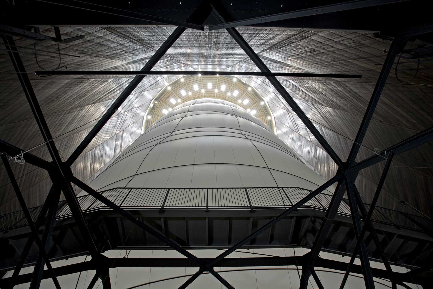 Big Air Package Textile Installation Art by Christo | Yellowtrace