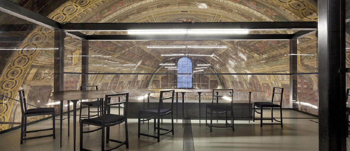 Massimiliano Locatelli's CLS Architetti Studio Inside a 16th Century Church in Milan | Yellowtrace