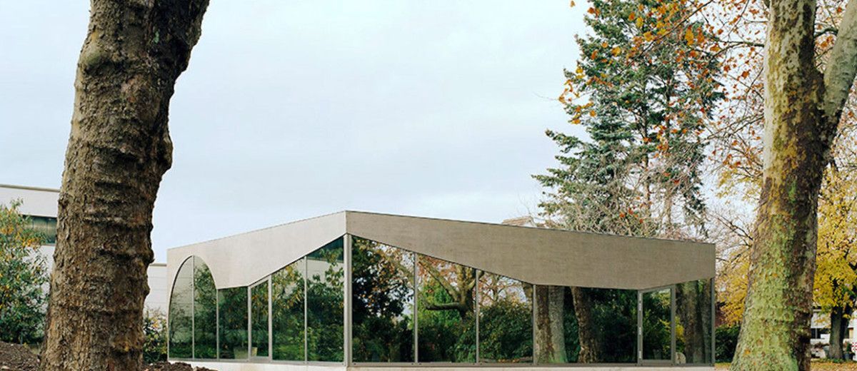 Architekt Düren fried cafe pavilion by amunt in duren germany yellowtrace